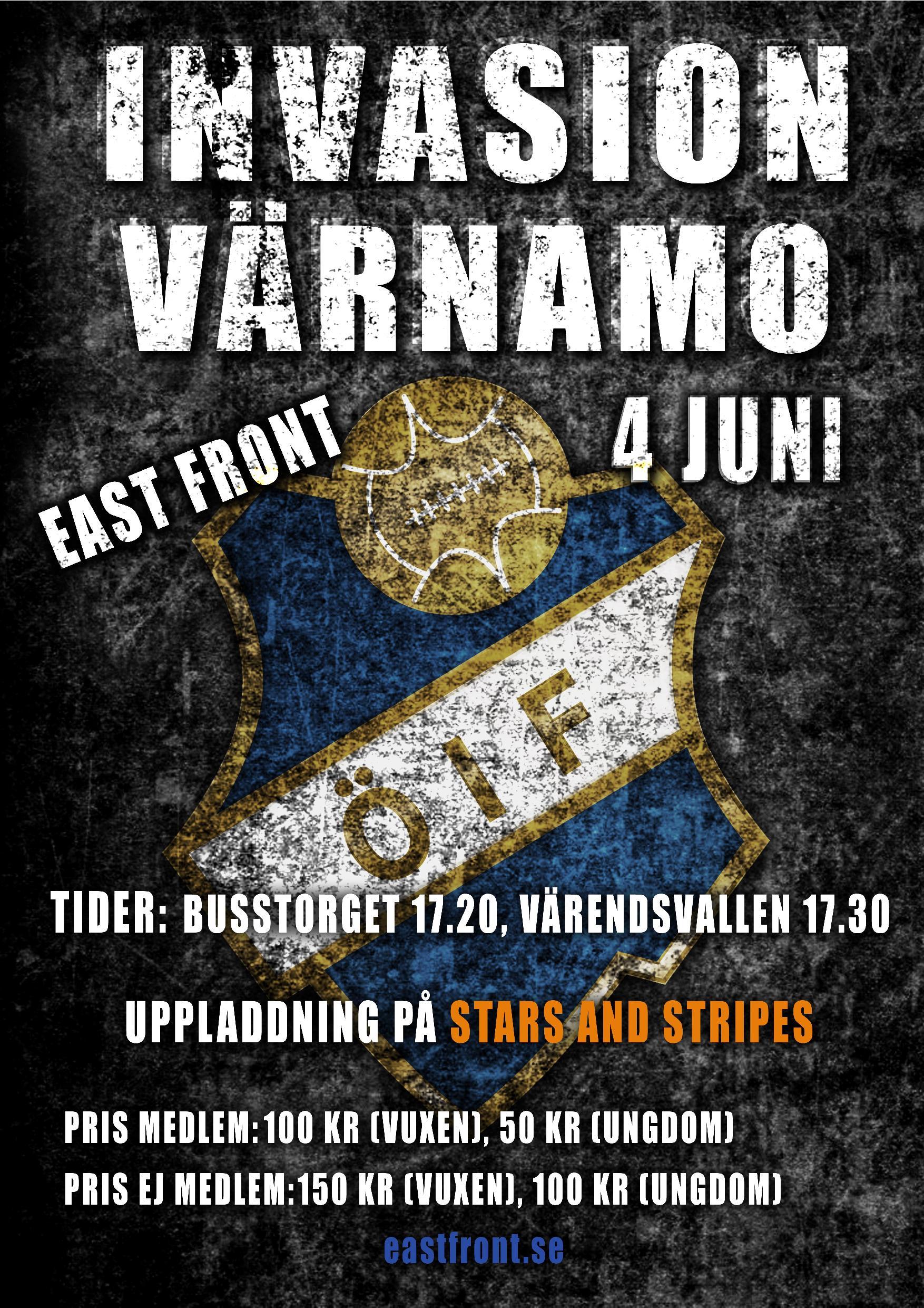 Affisch skapad av Erik Varde